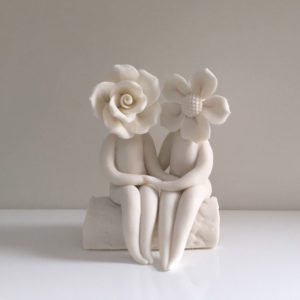Couples Flower Sculptures