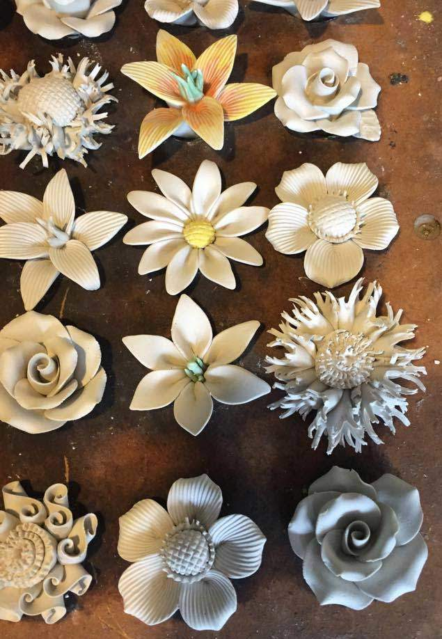 bone china flowers