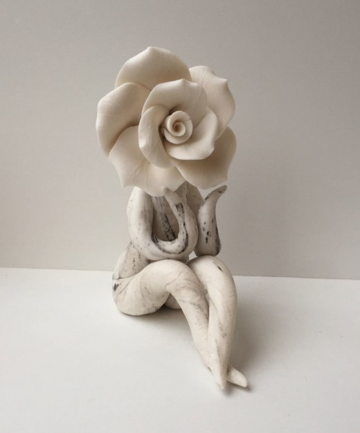 lady rose contemplating