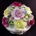 coalport bone china flowers