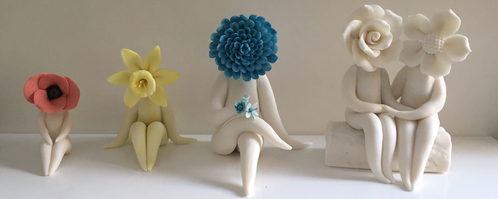 FLower People sculptures make unique christmas gifts