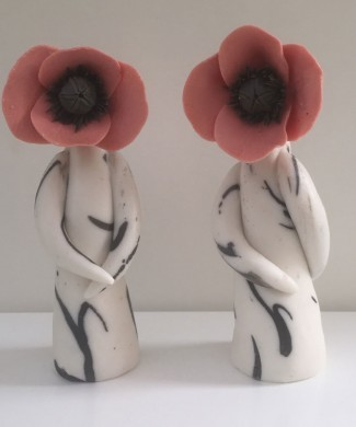 Poppy Lady Sculptures