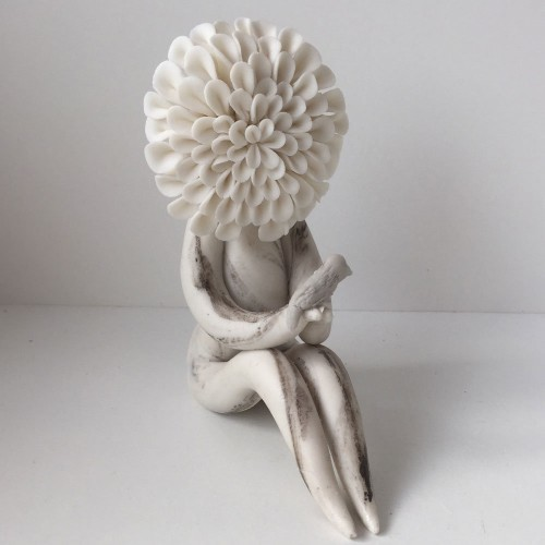 Chrysanthemum flower lady