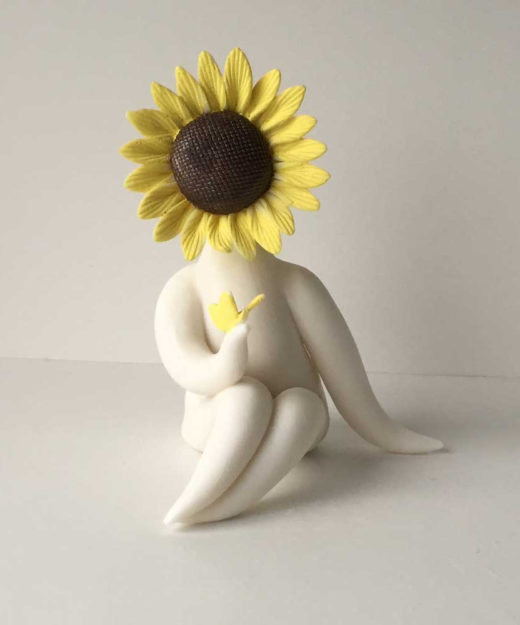 Little Miss Sunflower Sculpture