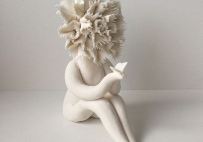 Carnation Flower Sculptures