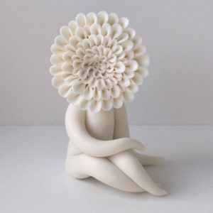 Dahlia Flower Sculptures