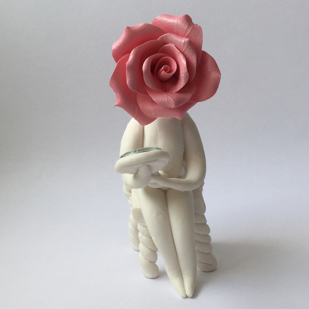Rose Lady Looking Glass Cazamic