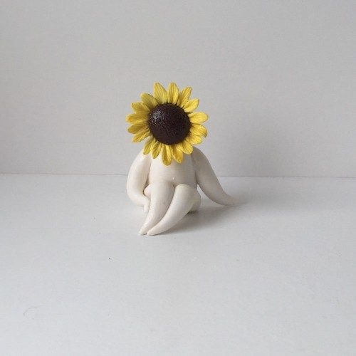 Mini Miss Sunflower Sculpture