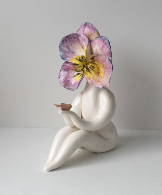 Mrs Pansy Sculpture