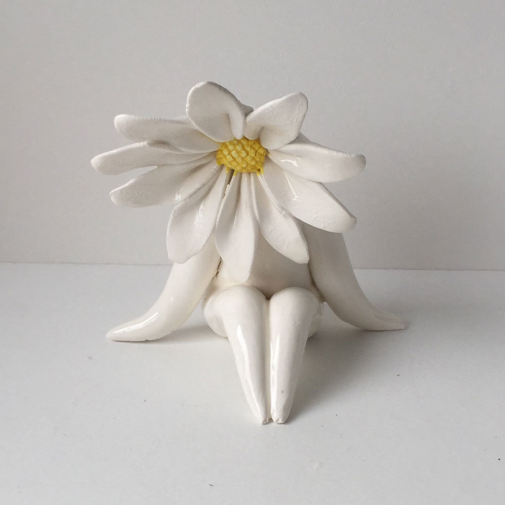 Miss Daisy FLower Sculpture
