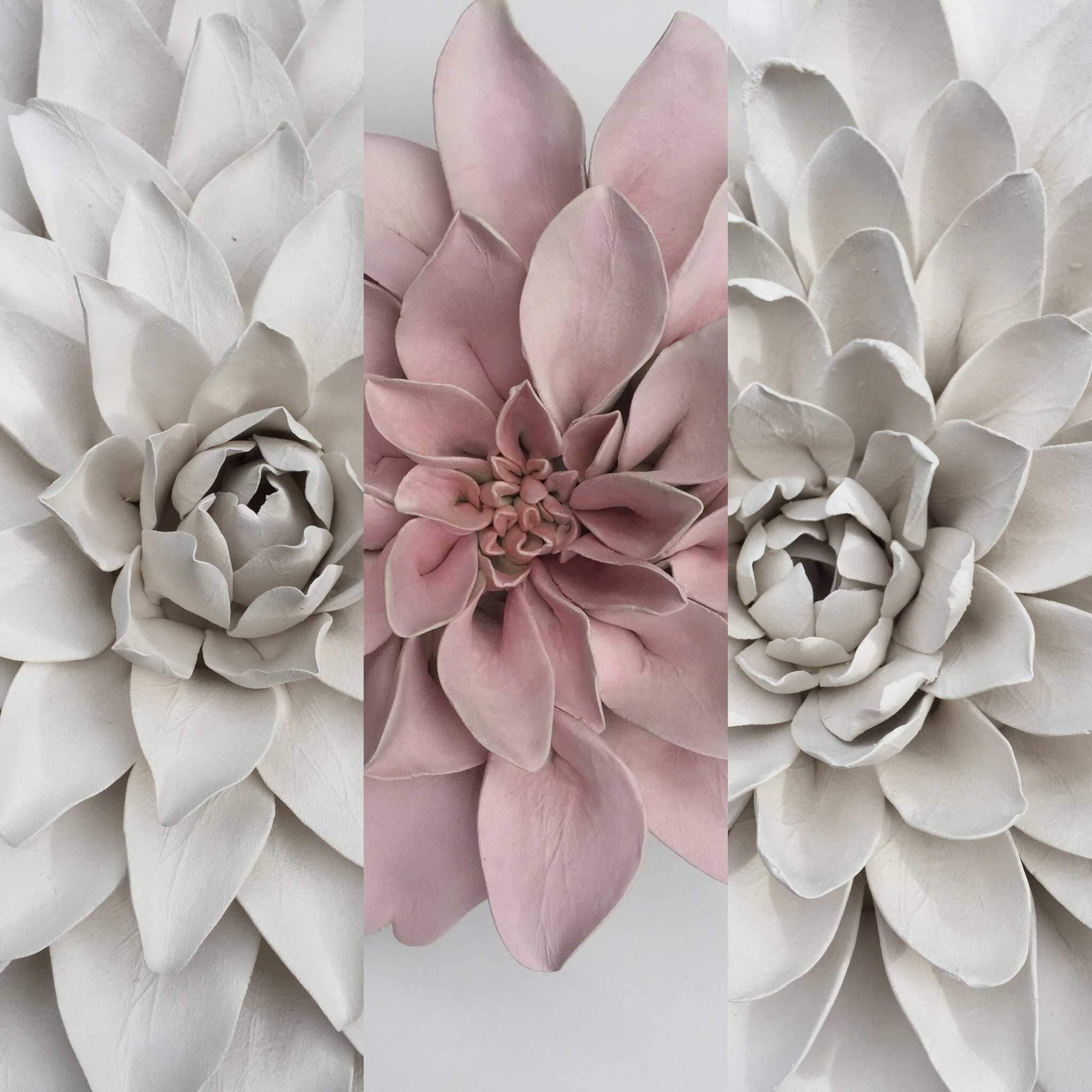 Dahlia Flower Wall Art