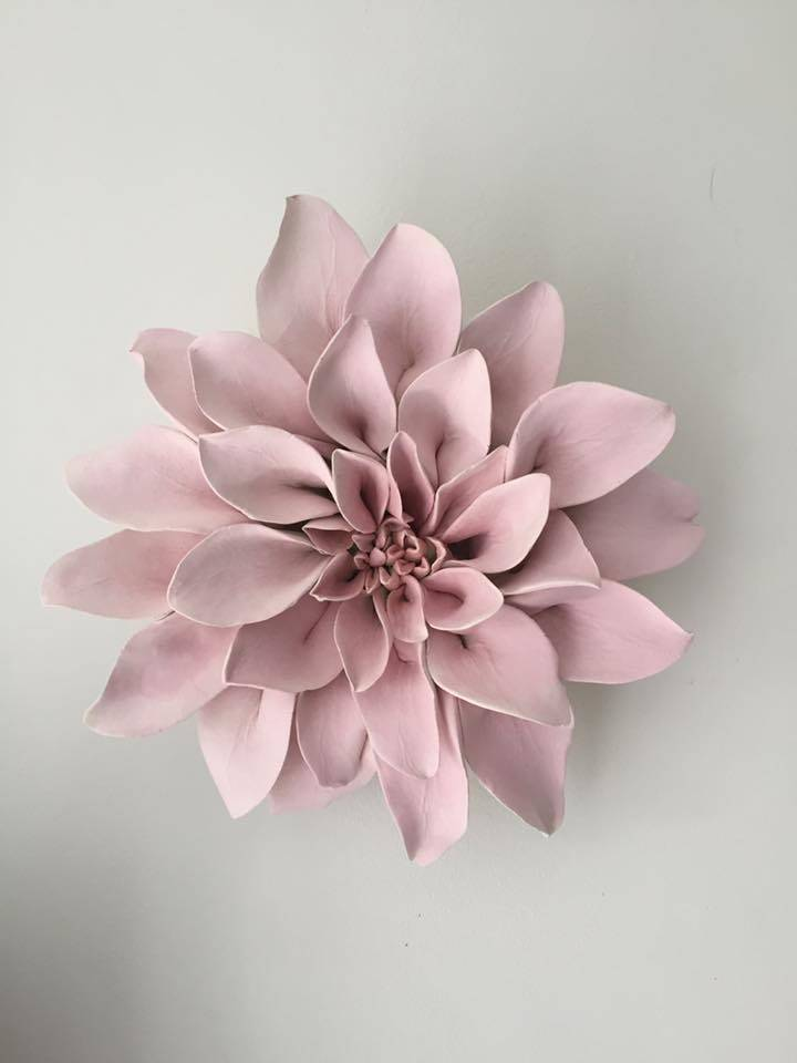 Dahlia Wall Flower - wall art