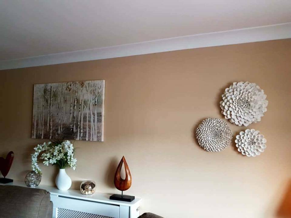 wall sculptures-CeramicFlowers