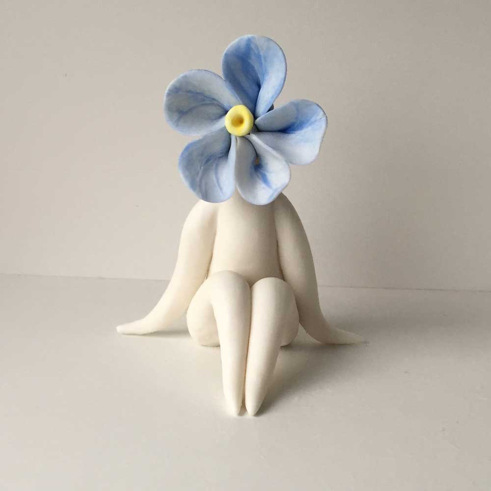 Lady Forget me Not