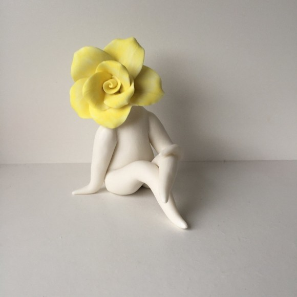 Lady Rose Sculpture