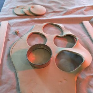 Cutting Clay Circles
