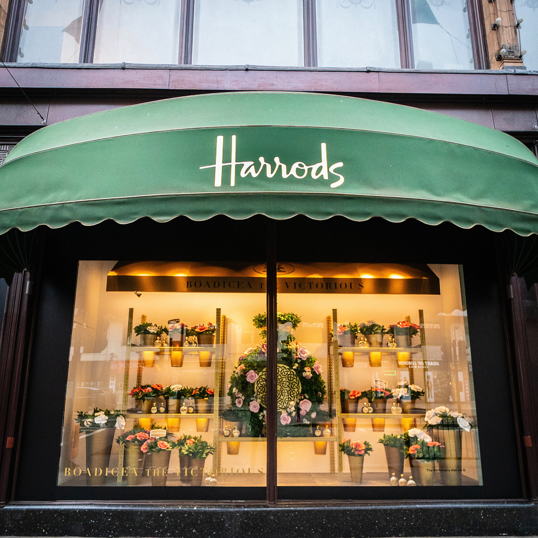 Harrods Window Display 2018