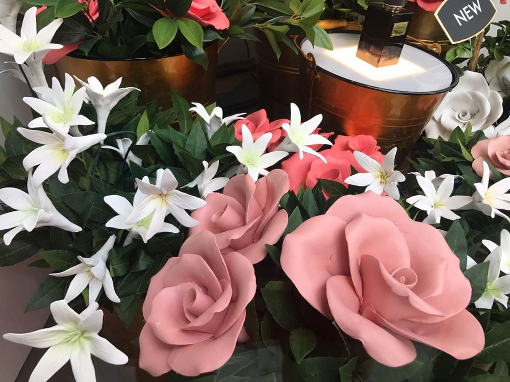 Pink Roses And Tuber Roses Harrods