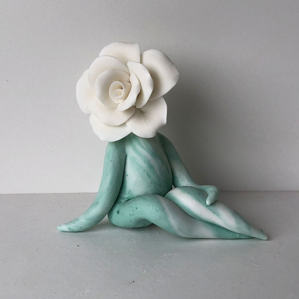 Rose Flower Sculpture