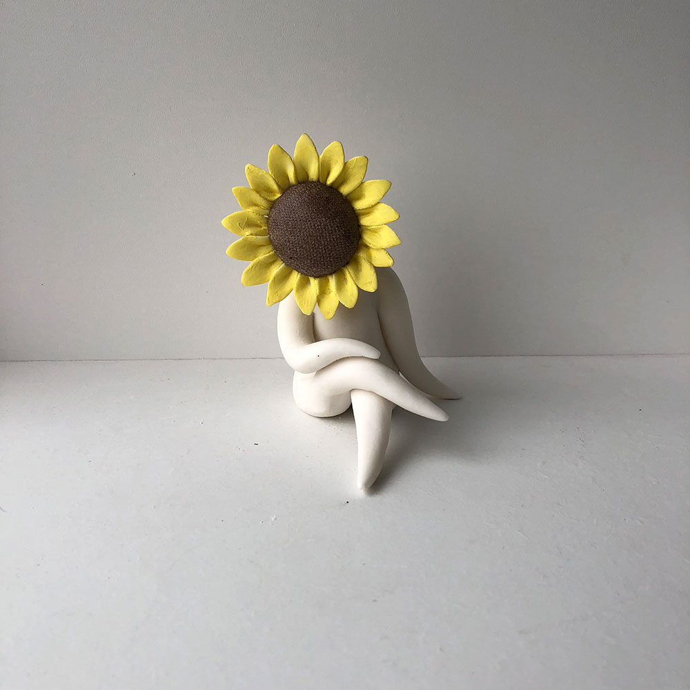 SunflowerFlowerSculpture