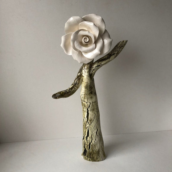 Rose Tree Sculpture