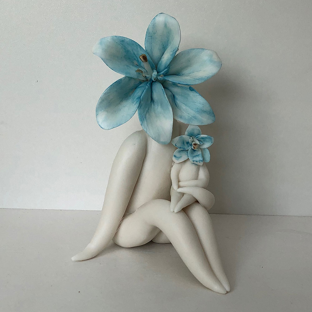 Lily Mum - Surrealism Art Sculpture
