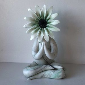 Preying Gerbera Sculpture