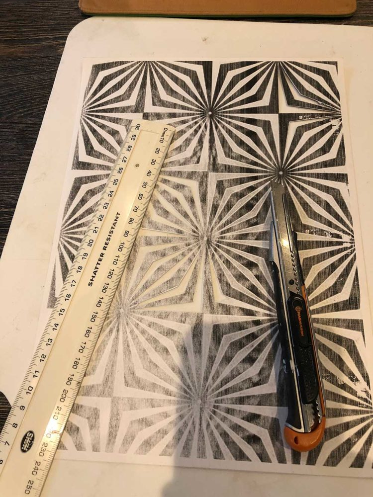 Ruler Knife Print Out