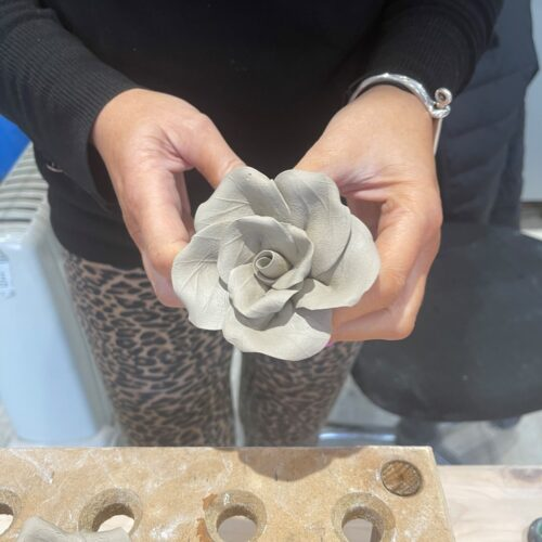 Vickys Clay Flower